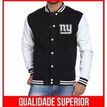 Jaqueta College Masculina New York Giants Jaquetas Colegial