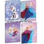 7 Cadernos Frozen Gd + 2 Cadernos Pq Brochura + 1 Gd Desenho
