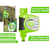 Temporizador Eletrônico Pra Irrigação Gramado Jardim Ortas