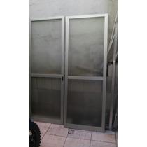 Porta Aluminio Duas Folhas De Correr Lindas/2,15x0,78cada