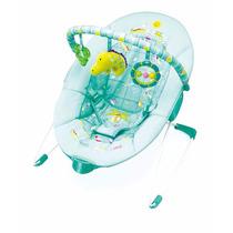 Cadeira De Descanso Verde Animais Vibra 0-11kg