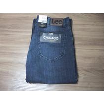 Calça Jeans Masculina Original Lee Tradicional Chicago