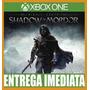 Middle Earth: Shadow Of Mordor - Xbox One Xone - Imediato !