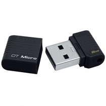 Pen Drive 8gb Kingston Datatraveler Micro Original S/ Juros