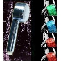 Ducha Led 4 Cores Chuveirinho Sensor De Temperatura De Luz