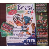 Album Figurinhas Copa Do Mundo 2014 Peru Completo Colar
