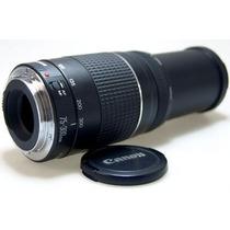 Lente Canon Ef 75-300 3a. Geração P/câmera - Mercadoplatinum