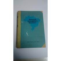 Livro - Dicionário Geográfico Brasileiro