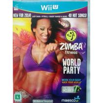 Zumba Fitness World Party Com Belt - Jogo Wii U - Dança