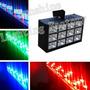 Dj Iluminação 12 Leds Rgb 15w Bi-volt Efeito Strobo Ritmico!