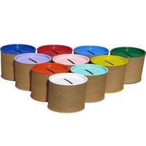 Cofrinho De Papelão 6x6 - Caixa Com 100 - Frete Grátis