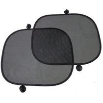 Kit 2 Protetores Solares Para Automóveis - Vidros Laterais