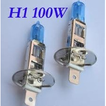 Lampada H1 Super Branca Efeito Xenon 100w - Par