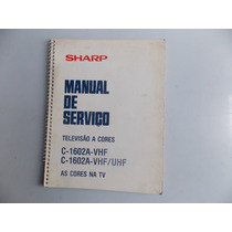 Livro Manual De Serviço Televisão A Cores Frete Gratis
