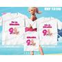Lembrança De Aniversario Barbie Boneca Kit Camisetas C/ 3