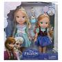 Boneca Frozen Original Disney Kit Anna E Elsa Criança + Olaf