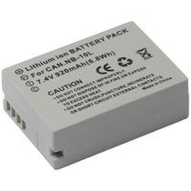 Bateria Da Câmera Semi Profissional Canon G16 G15 G1x Nb-10l