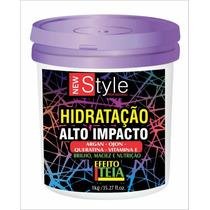 Hidratação Alto Impacto Efeito Teia New Style 1k