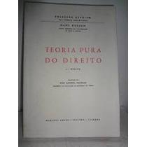 Livro Teoria Pura Do Direito 6ª Edição Hans Kelsen