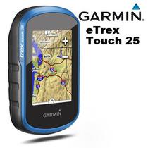 Gps Garmin Etrex Touch 25 4gb + Mapa Rodo Brasil + Capa Azul