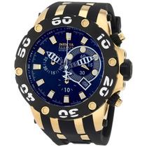 Relógio Invicta 0913 Subaqua 52mm Ouro18k! Aventador Import