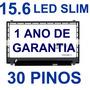 Tela 15.6 Led Slim 30 Pinos B156xw04 V.8 Ou V.7 1366x768 Hd
