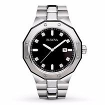 Relógio Bulova Diamonds Marine Star 98d103 12xs/jutos Frete
