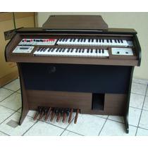 Órgão Eletrônico Harmonia Hs-100 Com Pen Drive.