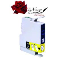 Cartucho Epson To 422 20 Ciano Compatível To422 C82 Cx5400