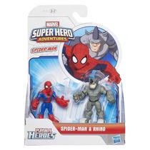A7109 Marvel Super Hero - Homem Aranha E Rhino