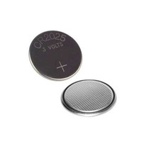 Bateria Cr2025 3v Lithium 3 Peças