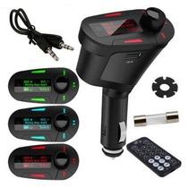 Tocador Fm Veicular Mp3 Player Wireless Original Top Linha