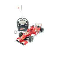 Carrinho Corrida Formula 1 Controle Remoto Cor Vermelha