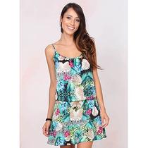 Vestido Estampado Com Barra Peplum Brenda Lee - Color