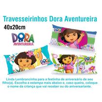 20 Travesseirinhos Lembrancinha 40x20 Dora Aventureira