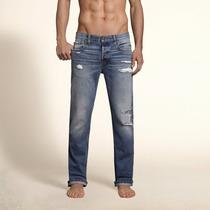 Calcada Abercrombie Fitch E Da Hollister Jeans Ou Moleton