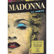 Dvd Madonna Em Dobro Music Video Remixes Hard Candy Live