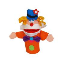 Fantoche Individual Palhaço Brinquedo Educativo Para Teatro