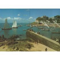 930 - Postal Salvador, Ba - Jangadas Na Praia Da Barra