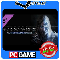 Shadow Of Mordor Game Of The Year Edition Upgrade Dlc Steam