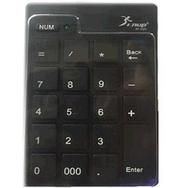Teclado Numérico Usb Retrátil Notebook Preto Kp-2003 - Knup