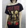 Camiseta Feminina De Banda - Guns N