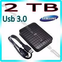 Hd Externo 2tb Samsung M3 Portátil Usb 3.0 E 2.0 Original