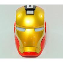 Mini Radio Iron Man Caixa De Som Fm / Sd / Pen Drive / Aux .