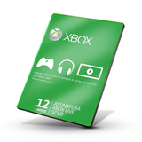 Xbox Live Gold 12 Meses Br Xbox 360 / Xbox One / Windows 10
