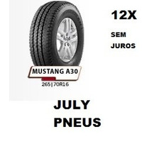 Pneu Remold 265 70 16 Pick-ups Hilux L200 Pajero Novo