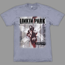 Camiseta Linkin Park Hybrid Theory Stamp