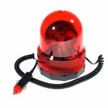 Giroflex Vermelho Luz Emergencia Sinalizador Rodando 12 Volt