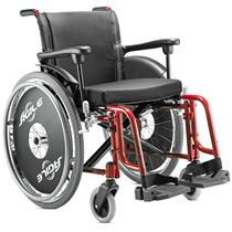 Cadeira De Rodas Cor Vermelha, Agile - Jaguaribe