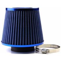 Filtro De Ar Esportivo Duplo Fluxo Azul Gol G2 G3 G4 G5 G6